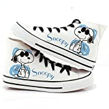 Women Shoes Summer Hand-Painted Canvas Shoes Doodle Splash-Ink Dot Lacing Low Women's Flat Tenis Feminino Loafers Zapatos Mujer y 10