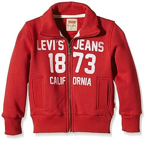 Levi's N91702H - Sweat-shirt - Uni - Garçon - Rouge (Red) - FR: 16 ans (Taille fabricant: 16 ans)