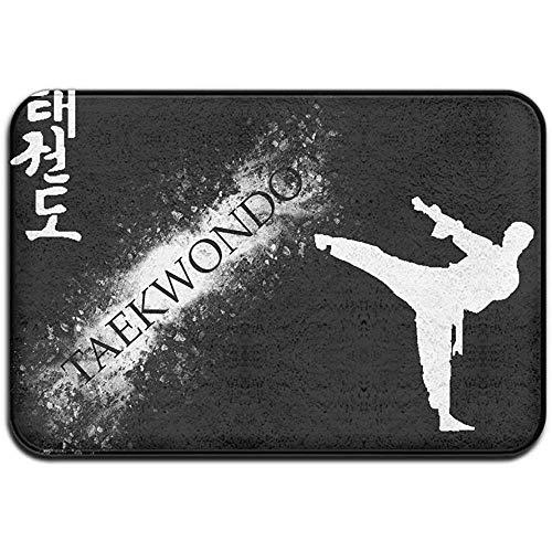 Liuqy Kjaoi Teppich Rutschfester Fleck Verblassungsbeständige Fußmatte Taekwondo Sport Outdoor Indoor Matte Raumteppich 40cm x 60cm