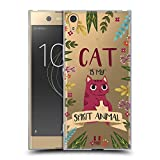 Head Case Designs Cat Spirit Animal Illustrations Soft Gel