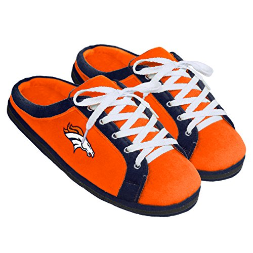 Forever Collectibles NFL Denver Broncos Unisex Sneaker Slide Slipper Extra Large, X-Large