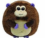 TY 7138004 - Bananas Ball Affe Stoffball Beanie Ballz, braun 12 cm