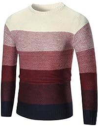 VENMO Herren Winter Pullover Slim Fit Pullover Strickwaren Outwear Bluse  Kapuzenpullover Kleidung Kapuzen Knitwear… bc3033b0dd