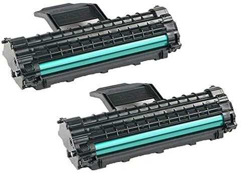 Prestige Cartridge MLT-D1082S 2-er Pack Toner kompatibel für Samsung ML-1640, ML-2240, ML-1641, ML-1642, ML-1645, (Samsung Ml1640)