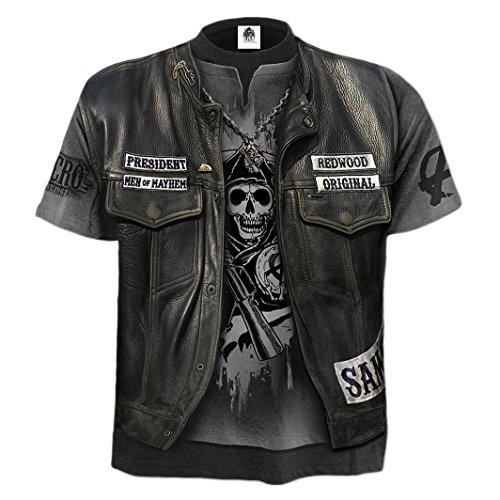 Spiral Sons of Anarchy Unisex T Shirt Jax WRAP Redwood Samcro