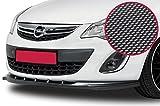 CSR-Automotive Cupspoilerlippe Spoilerschwert mit ABE Carbon Look CSL021-C