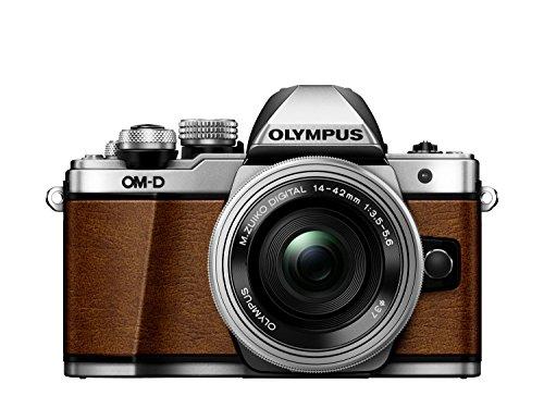 olympus-e-m10ii-fotocamera-marrone-con-obiettivo-ez-m1442-ez-argento-limited-edition
