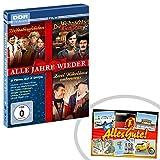 DVD Alle Jahre wieder 3 DVDs | INKL DDR Geschenkkarte | Ostalgie | Ideal für jedes DDR Geschenkset | Ostprodukte