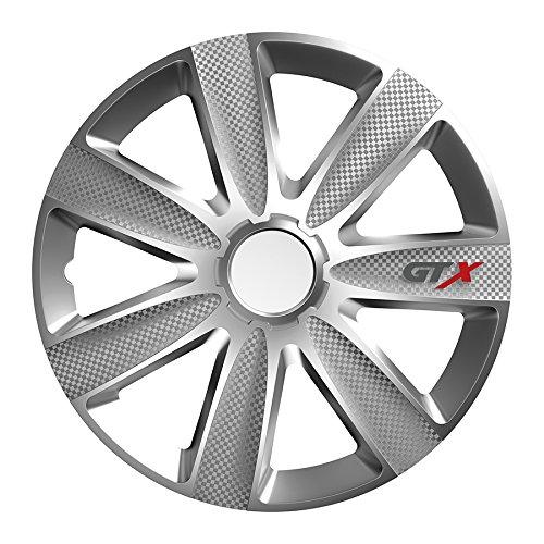 Universal Radzierblende Radkappe silber 14 Zoll für viele Fahrzeuge passend - Accord Honda Radkappen