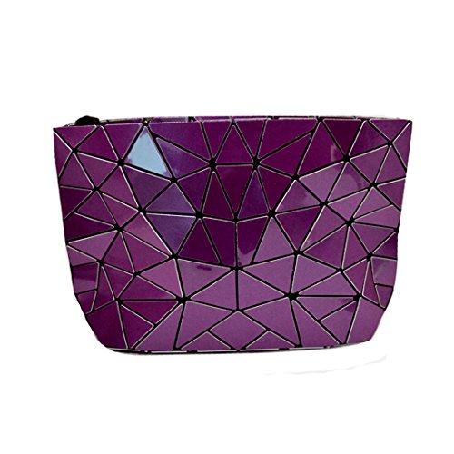 Meliya Borsa Messenger, Silver (argento) - HY-djb-00161-01YA Purple