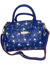 camomilla it e Amazon Scarpe borse Blu borse W1q8az