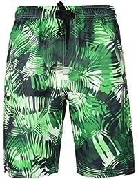 YuanDiann Homme Grande Taille Impression Shorts De Plage été Casual  Boardshorts Séchage Rapide Taille élastique Cordon e653ba9ba14