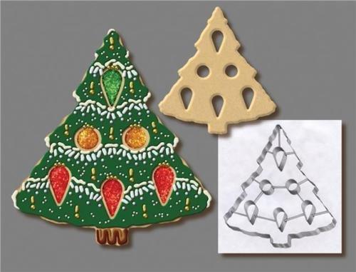 Unbekannt Anniversary House Weihnachtsbaum mit Punchout Deluxe Cookie/Pie Top Cutter Pie Top Cutter