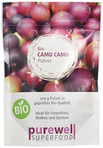 CAMU CAMU Pulver - Bio Superfood - Die beste natürliche Vitamin C...