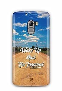 YuBingo Wake Up and Be Inspired Designer Mobile Case Back Cover for Lenovo A7010