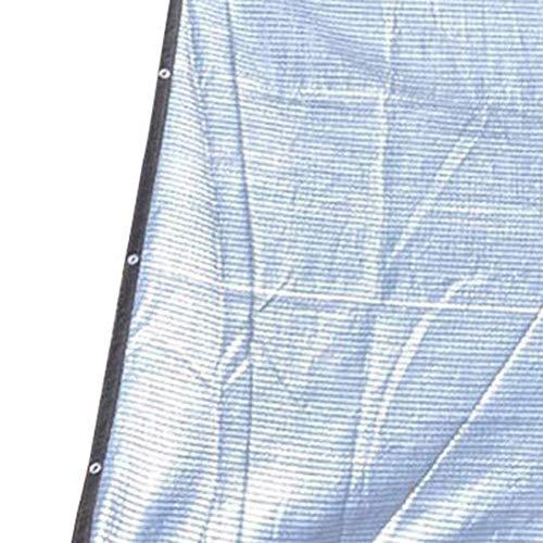 GUOOK Rete da Giardino Ombrelloni 75 80% Isolante Riflettente Foglio di Alluminio Protezione Solare UV Copertura di Fiori Serra )