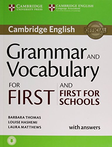 Grammar and Vocabulary for First and First for Schools. Book with Answers and Audio...