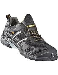 S1P chaussures de sécurité ESD BAAK John Sports exclusive, gris, 7542 BGR191: chaussures adaptées aux semelles orthopédiques, gris, Taille 39