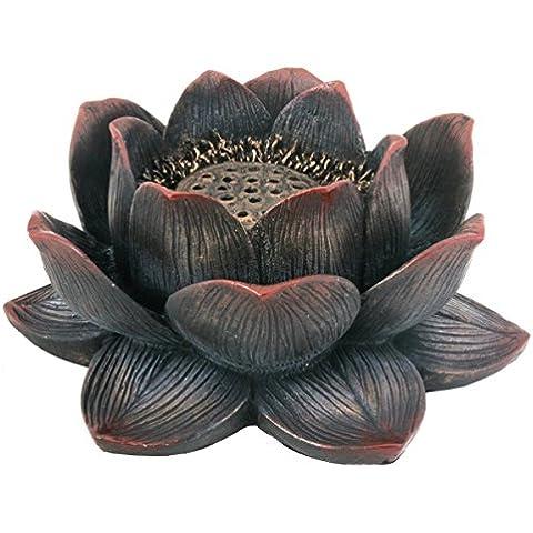 Buddha meditazione Aroma Profumo Lotus incenso bruciatore da collezione
