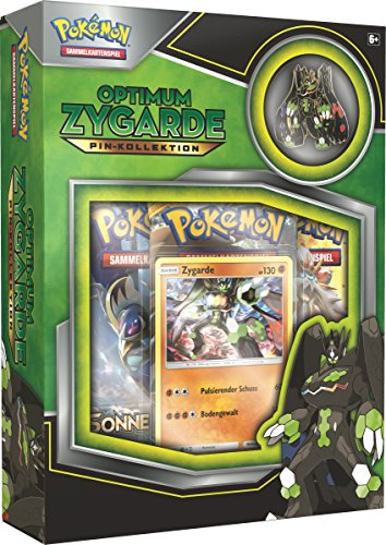 Pokemon 25923 - PKM Zygarde Pin Box - Karten-set-box Pokemon