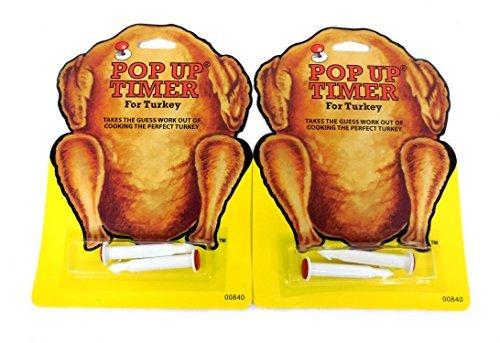 4ps (2pks) Pop- up Auf Timer für Truthahn - Die Heuck Pop-Up Kochen Küchen Werkzeug Huhn Geflügel Rindfleisch, USA Gefertigt