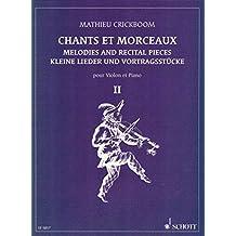 CRICKBOOM - Cantos y Melodias 2º para Violin y Piano