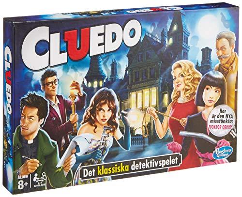 Hasbro Spiele 38712109 Cluedo - Gioco di famiglia, versione finlandese