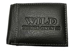 Wild Things Only - Minigeldbörse Portemonnaie Portmonee Partybörse Schwarz - Noir