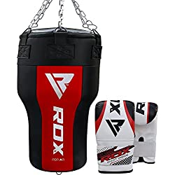 RDX Heavy Boxing Uppercut Angled Maize Punch Bag Filled MMA Punching Training Sparring