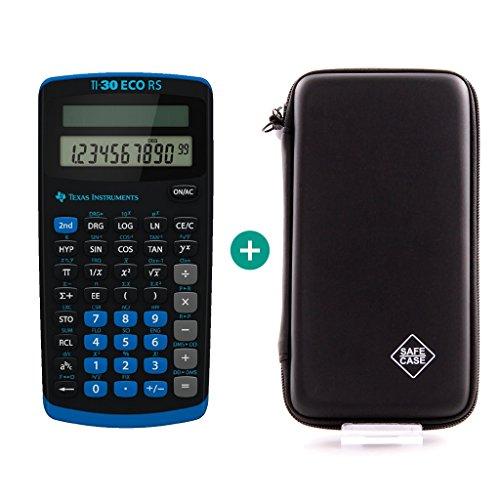 Texas Instruments TI-30 ECO RS + Schutztasche - Wissenschaftlicher Ti30 Taschenrechner
