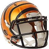 Riddell NFL Cincinnati Bengals Chrome Speed Mini Footballhelm