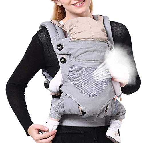 Udxvsdfhd Baby Carrier .Baby Carrier - Summer Suitable - Knitted Breathable Mesh - Suitable for 4-36 Months - for Waist Circumference 50CM-120CM - One Size Back Carrier  udxvsdfhd