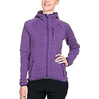 Twentyfour Women's Svalbard Knitted Fleece Hooded Jacket