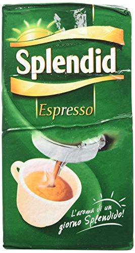 Splendid - Caffè Macinato Gusto Espresso - Miscela per Macchina Caffè Espresso - 12 Confezioni - Pacco da 250 gr
