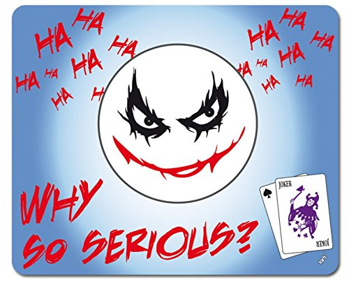 s - Emoji, Joker, Why So Serious Mauspad 23 x 19 cm ()
