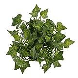 Bestomz Kunstpflanze, Kletter-Efeu, 2m, Grün
