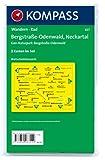 Bergstraße-Odenwald - Neckartal - Geo-Naturpark Bergstraße-Odenwald: Wanderkarten-Set mit Aktiv Guide in der Schutzhülle - GPS-genau - 1:50000 (KOMPASS-Wanderkarten, Band 827) -
