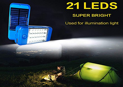 US1984 21 LED Wireless Solar Light with Power Financial institution, Wall Light and Lighting for Wall, Patio, Backyard, Panorama, Deck, Shed, Garden, Emergency Light, Two Brightness Mode Image 4