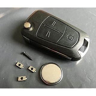 DIY Reparatur-Kit–für Vauxhall Opel Astra Corsa Vectra Zafira 3Tasten Fernbedienung Flip Schlüssel Renovieren
