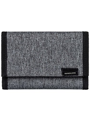 Quiksilver The Everydaily - Wallet - Portemonnaie - Männer - M - Grau (Medium Wallet Zip)