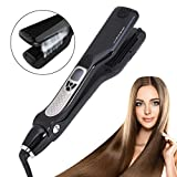 Best Hair Straightener With Steam - Steam Hair Straightener, Salon Professional LCD Display Adjustable Review