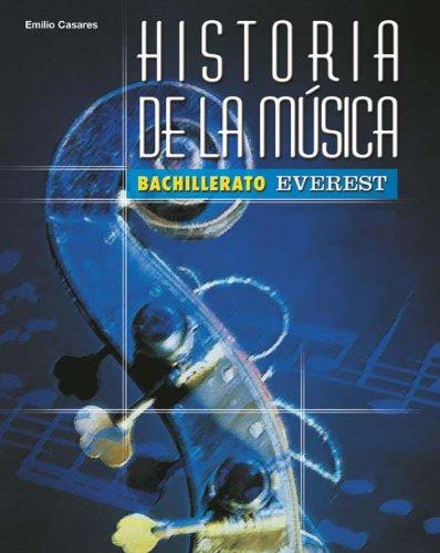 Historia de la música bachillerato: humanidades y ciencias sociales (bachillerato everest)
