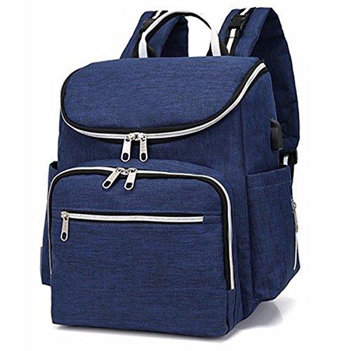 Preisvergleich Produktbild Wickeltaschen Baby Staubbeutel Multifunktions-Windel Rucksack mit kinderwagenhalter, große Kapazität, langlebig, und elegant