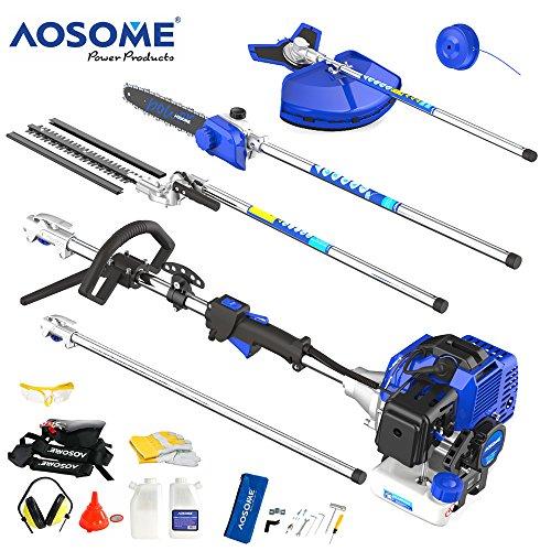 5-en-1-AOSOME-Trononneuse-Debroussailleuse-Taille-haie–essence-52-cm-puissance-30-CV