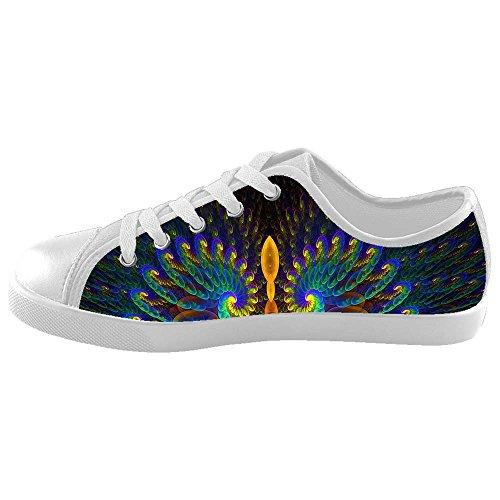 Dalliy sch?ne pfau Boy's High-top Canvas shoes Schuhe Footwear Sneakers shoes Schuhe D