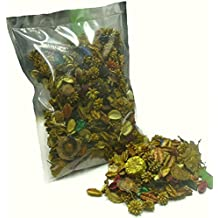 "Thermovip Popurrí perfumado de flores secas ""Amarillo"". Formato económico bolsa de 150gr."