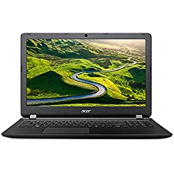 Acer Aspire ES1-523-49C0 15.6-inch Laptop (7th Gen A4-7210/4GB/1TB/Linux/Integrated Graphics), Midnight Black