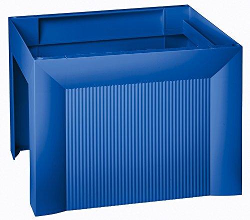 HAN 1905-14, Hängemappenregistratur KARAT, ansprechendes, exklusives Design für 35 Hängemappen, extra stabil, stapelbar, blau