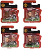 Soccerstarz Manchester United Blister Includes Wayne Rooney/ Ryan Giggs/ Paul Scholes and Ashley Young (Pack of 4)