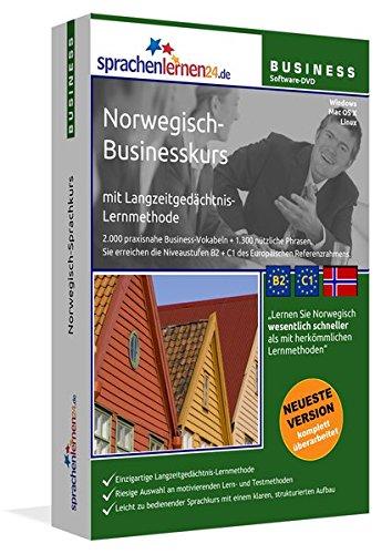 Norwegisch-Businesskurs, DVD-ROM Norwegisch-Sprachkurs mit Langzeitgedächtnis-Lernmethode. Niveau...